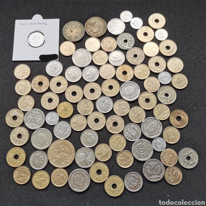 D08. ESPAÑA. MUY INTERESANTE SELECCIÓN DE 196G (Numismática - España Modernas y Contemporáneas - Colecciones y Lotes de conjunto)