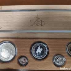 Monedas de España: COLECCIÓN 5 VALORES DE PLATA FDC MATE 1990 SERIE II.. Lote 222108720