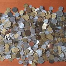 Monedas de España: LOTE 3,326 KG. DE MONEDAS EXTRANJERAS Y ESPAÑOLAS. Lote 222130613