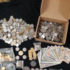 Monedas de España: SUPERLOTE BILLETES MONEDAS MEDALLAS PLATA FNMT. Lote 223963870