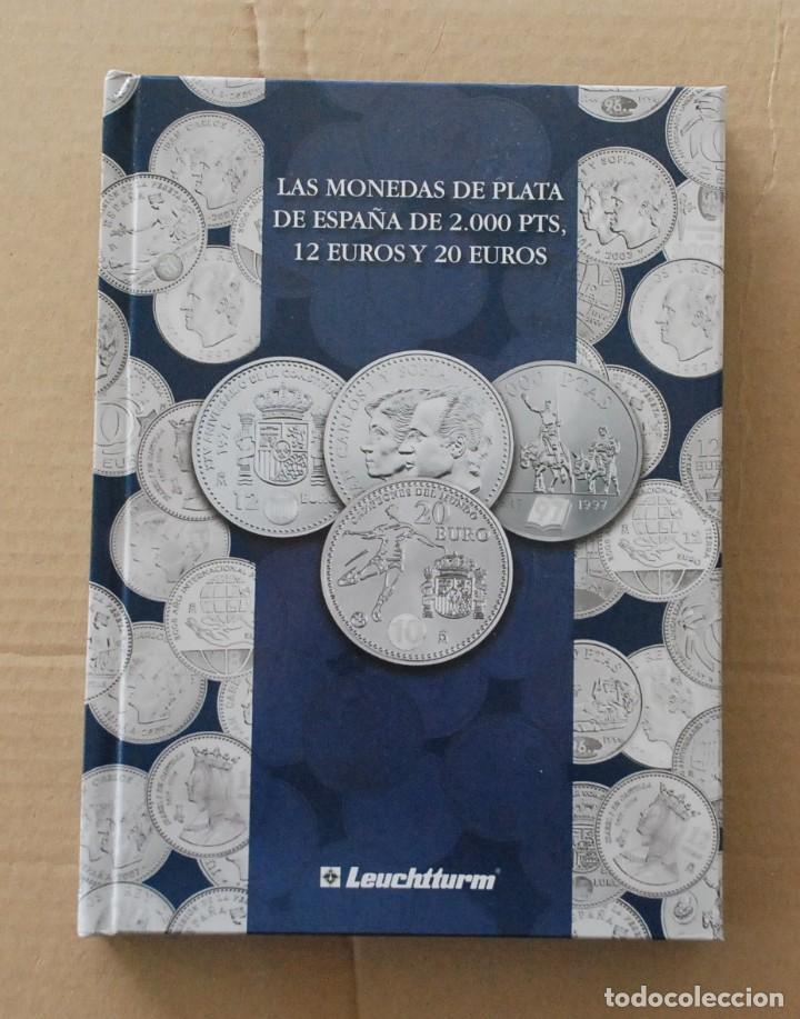 LOTE ALBUM COLECCION 20 MONEDAS 12€ , 20€ Y 30€ PLATA ESPAÑA - AÑO 2002 A 2018 (Numismática - España Modernas y Contemporáneas - Colecciones y Lotes de conjunto)