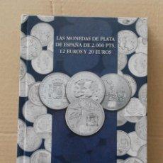 Monedas de España: LOTE ALBUM COLECCION 20 MONEDAS 12€ , 20€ Y 30€ PLATA ESPAÑA - AÑO 2002 A 2018. Lote 224522698