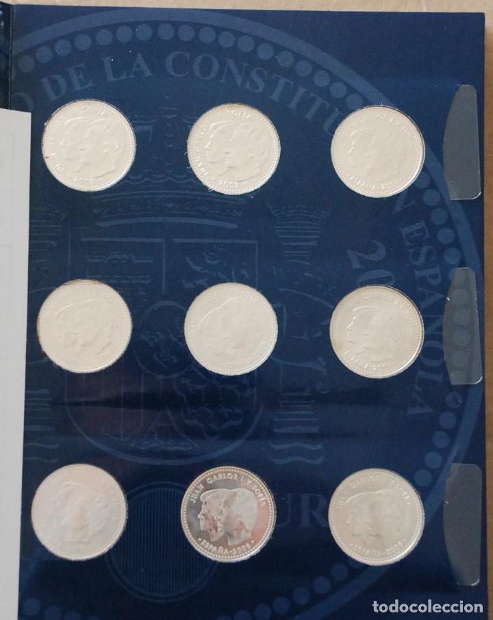 Monedas de España: LOTE ALBUM COLECCION 20 MONEDAS 12€ , 20€ Y 30€ PLATA ESPAÑA - AÑO 2002 A 2018 - Foto 2 - 224522698
