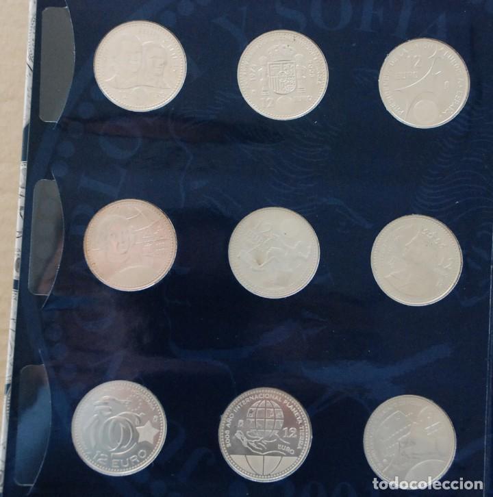 Monedas de España: LOTE ALBUM COLECCION 20 MONEDAS 12€ , 20€ Y 30€ PLATA ESPAÑA - AÑO 2002 A 2018 - Foto 3 - 224522698