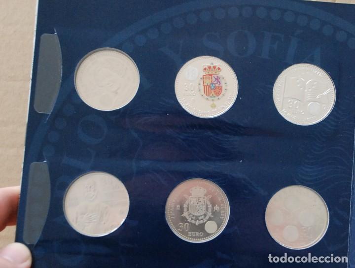 Monedas de España: LOTE ALBUM COLECCION 20 MONEDAS 12€ , 20€ Y 30€ PLATA ESPAÑA - AÑO 2002 A 2018 - Foto 7 - 224522698