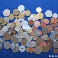 Monedas de España: LOTE 100 MONEDAS DIFERENTES DEL MUNDO. Lote 224680996