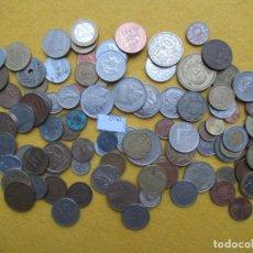 Monedas de España: LOTE 100 MONEDAS DIFERENTES DEL MUNDO. Lote 224681133