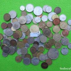 Monedas de España: LOTE 100 MONEDAS DIFERENTES DEL MUNDO. Lote 224681381
