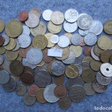 Monedas de España: LOTE 100 MONEDAS DIFERENTES DEL MUNDO. Lote 224681466