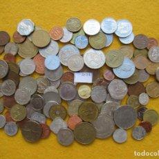 Monedas de España: LOTE 100 MONEDAS DIFERENTES DEL MUNDO. Lote 225662500
