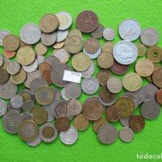 Monedas de España: LOTE 100 MONEDAS DIFERENTES DEL MUNDO. Lote 225662605
