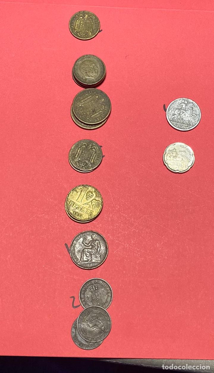 LOTE MONEDAS (Numismática - España Modernas y Contemporáneas - Colecciones y Lotes de conjunto)