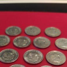 Monedas de España: 14 MONEDAS DE 10 CÉNTIMOS DE 1959. Lote 228591955
