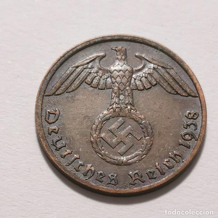 ALEMANIA GERMANY DEUTSCHES REICH 1 REICHS PFENNIG 1938 - BERLÍN (Numismática - España Modernas y Contemporáneas - Colecciones y Lotes de conjunto)