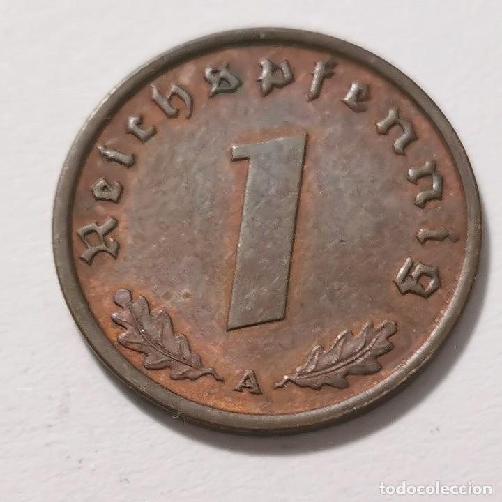 Monedas de España: ALEMANIA GERMANY DEUTSCHES REICH 1 REICHS PFENNIG 1938 - BERLÍN - Foto 2 - 231335875
