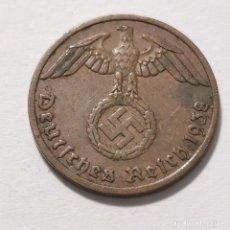 Monedas de España: ALEMANIA GERMANY DEUTSCHES REICH 1 REICHS PFENNIG 1938 - BERLÍN. Lote 231335945