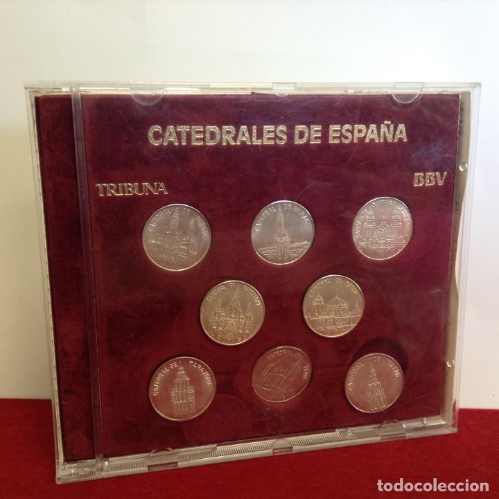 Monedas de España: COLECCION 8 MONEDAS DE PLATA - CATEDRALES DE ESPAÑA ***TRIBUNA - BBVA*** - Foto 2 - 232566815