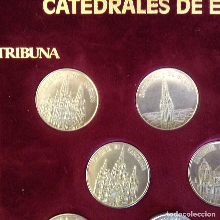 Monedas de España: COLECCION 8 MONEDAS DE PLATA - CATEDRALES DE ESPAÑA ***TRIBUNA - BBVA*** - Foto 3 - 232566815