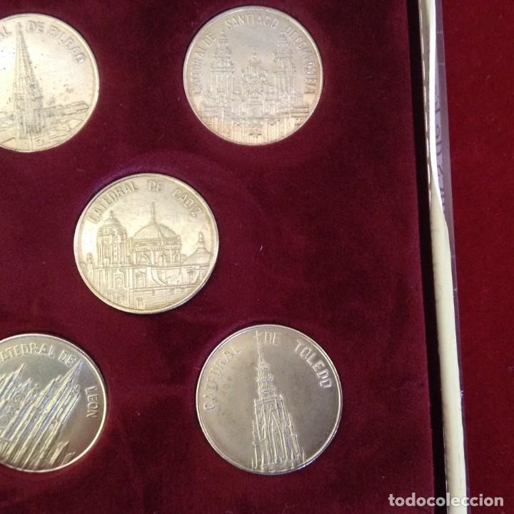 Monedas de España: COLECCION 8 MONEDAS DE PLATA - CATEDRALES DE ESPAÑA ***TRIBUNA - BBVA*** - Foto 4 - 232566815