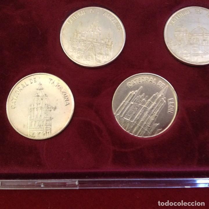 Monedas de España: COLECCION 8 MONEDAS DE PLATA - CATEDRALES DE ESPAÑA ***TRIBUNA - BBVA*** - Foto 5 - 232566815