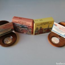 Monedas de España: LOTE DOS MONEDAS 1000 PTS PLATA - JUEGOS PARALIMPICOS ATLETISMO 2000. Lote 232671690