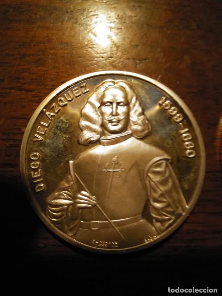 Monedas de España: 2 monedas grandes de plata. Diego Velázquez : La Rendición de Breda y La fragua de Vulcano - Foto 8 - 234604560
