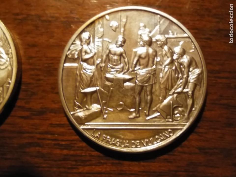 Monedas de España: 2 monedas grandes de plata. Diego Velázquez : La Rendición de Breda y La fragua de Vulcano - Foto 4 - 234604560