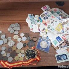 Monedas de España: LOTE MONEDAS ESPAÑOLAS EXTRANJERAS ,MEDALLAS ,CONMEMORATIVAS,TOKENS,SELLOS. Lote 234623230