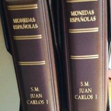 Monedas de España: JUAN CARLOS I(1975 A 2001)-LUJO TOTAL-INCLUYE VARIANTES Y ERRORES CATALOGADOS-VER FOTOGRAFÍAS. Lote 234970895
