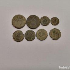 Monedas de España: LOTE 8 MONEDAS CATALANAS SIGLO XVII-XVIII (A3). Lote 235126205