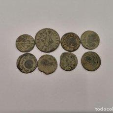 Monedas de España: LOTE 8 MONEDAS CATALANAS SIGLO XVII-XVIII (A4). Lote 235126335