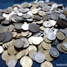 Monedas de España: ESPAÑA LOTE DE 2 KILOGRAMOS DE MONEDAS 1870- 2000. Lote 235606345