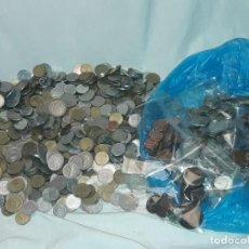 Monedas de España: MAGNIFICO GRAN LOTE DE 4750 GRAMOS DE MONEDAS DIFERENTES ÉPOCAS ESPAÑOLAS Y EXTRANJERAS. Lote 235717270