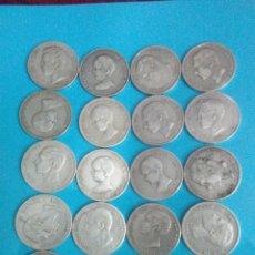 Monedas de España: LOTE 40 DUROS PLATA,ALFONSO XII-XIII,AMADEO I. Lote 236243650