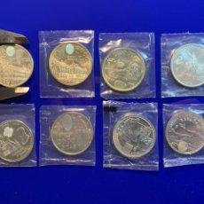 Monedas de España: COLECCIÓN COMPLETA DE MONEDAS CONMEMORATIVAS DE PLATA DE LA FMNT, 2000 PTAS, 12 €, 20 € Y 30 €.. Lote 236754515