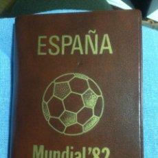 Monedas de España: SERIE NUMISMÁSTICA - MUNDIAL FÚTBOL 1982 *80 - 6 MONEDAS PTAS. 100 - 50 - 25 - 5 - 1 - 0,50 CTS. Lote 238141750