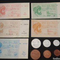 Monedas de España: COLECCION COMPLETA AXARCOS. Lote 239552335