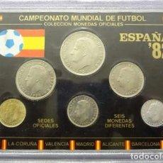Monedas de España: ESPAÑA MONEDAS *ESTUCHE EXPOSICION CAMPEONATO MUNDIAL DE FUTBOL*OFICIAL-ESPAÑA'82-. Lote 240067690