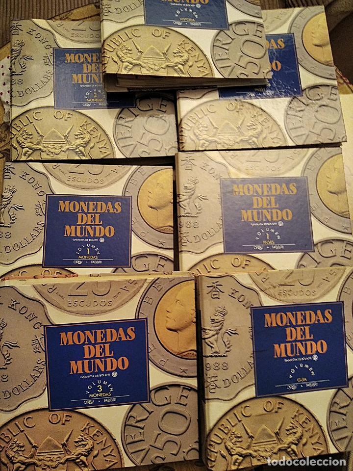 COLECCIÓN COMPLETA MONEDAS DEL MUNDO (Numismática - España Modernas y Contemporáneas - Colecciones y Lotes de conjunto)