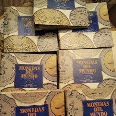 Monedas de España: COLECCIÓN COMPLETA MONEDAS DEL MUNDO. RARA Y DIFÍCIL DE ADQUIRIR CON LAS 7 CARPETAS - ARCHIVADORES. Lote 40920894