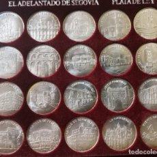 Monedas de España: COLECCION SEGOVIA EN PLATA II. SERIE 2ª. 20 MONEDAS MONUMENTOS DE SEGOVIA. PLATA LEY 925 CERTIFICADO. Lote 248583040