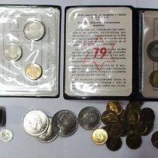Monedas de España: CONJUNTO DE MONEDAS DE JUAN CARLOS I Y DEL ESTADO ESPAÑOL Y CARTERITAS EN EXCELENTE ESTADO LOTE 3761. Lote 252025705
