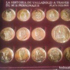 Moedas de Espanha: MONEDAS DE PLATA, ARRAS, LA HISTORIA DE VALLADOLID A TRAVÉS DE SUS PERSONAJES. Lote 254062805