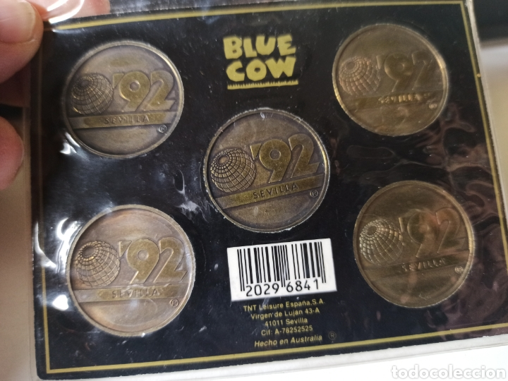 Monedas de España: Cartera o blister monedas Expo 92 conmemorativas - Foto 2 - 254214085