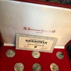"""Monedas de España: MEDALLAS DE PLATA """"LOS DIEZ MANDAMIENTOS"""". Lote 254421255"""