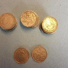 Monedas de España: LOTE DE 25 MONEDAS. FRANCISCO FRANCO CAUDILLO. CINCO PESETAS.. Lote 254931425
