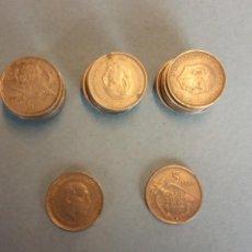 Monedas de España: LOTE DE 25 MONEDAS. FRANCISCO FRANCO CAUDILLO. CINCO PESETAS.. Lote 254931430