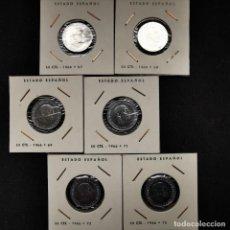 Monedas de España: ⚜️ A2009. SIN CIRCULAR. SERIE CIRCULANTE COMPLETA 50 CÉNTIMOS 1966, DE COLECCIÓN VINTAGE. Lote 254943550