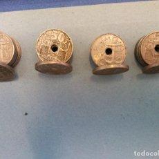 Monedas de España: LOTE DE 20 MONEDAS. 50 CTS. ESPAÑA 1949. Lote 255971235