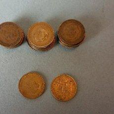 Monedas de España: LOTE DE 25 MONEDAS. FRANCISCO FRANCO CAUDILLO. UNA PESETA.. Lote 257621660